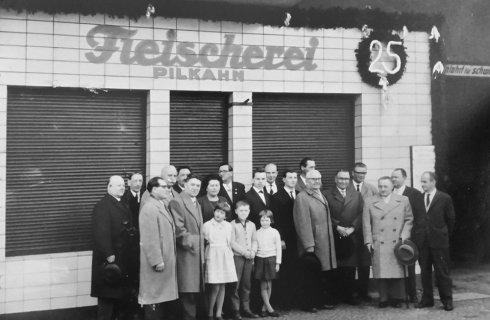Fleischerei Pilkahn 1936 bis 1970